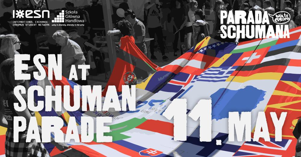 ESN at Schuman Parade