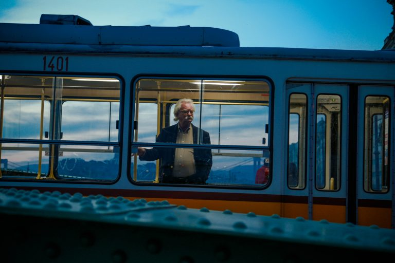 "2nd place - Evelina Borkovska - ""A Local Stranger Panoramic Tram Line in Budapest"" (XVI edition, Citizen of Europe)"